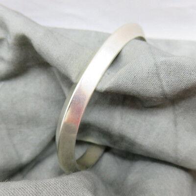 Dabe Navajo Bracelet Sterling Silver 35 gram Bangle Cuff Arrow Insignia 583g
