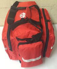 Needi Professional EMS EMT Paramedic Medical First Aid Rescue Response Bag - RED