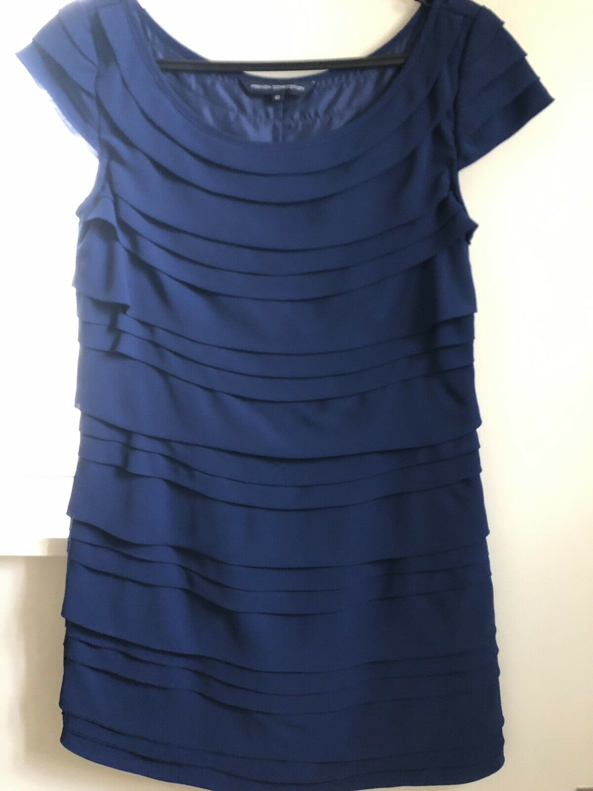 French Connection Cobalt bluee Shift Dress UK12