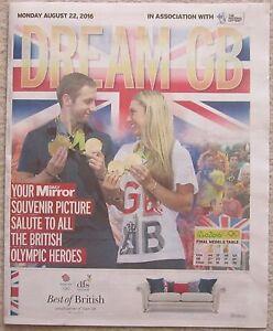 Dream-GB-Rio-Souvenir-Daily-Mirror-22-August-2016