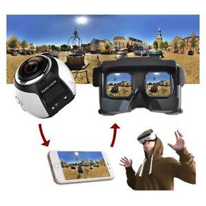 360 Degree Panorama Wifi 2448P 30FPS 16M Action Camera Mini Sport Camera US