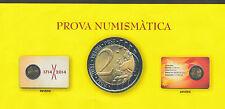 Catalunya Cartera moneda 2 Euros en prueba 2014 Tricentenari 1714 - 2014