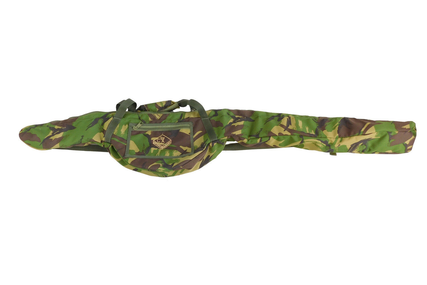 Cotswold Aquarius Woodland Camo 10ft 3 Fishing Rod Stalker Pouch 63