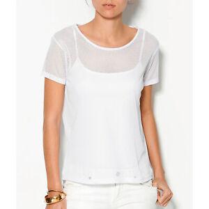 Top-manches-courtes-semi-transparent-femme-Venca-100928