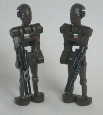 Authentic LEGO Star Wars Commando Droid Minifigure Lot x5 sw359 9488 75002 75012