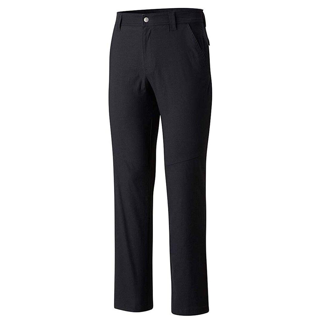 Nuevo   100 para hombre Big & Tall Columbia Omni-shield UPF-50 Pantalones De Senderismo Negro 34 desde entrepierna  ordene ahora los precios más bajos