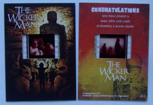 Unstoppable Cards THE WICKER MAN Film Cell