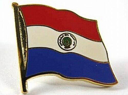 Paraguay Flaggen Pin Anstecker,1,5 cm,Neu mit Druckverschluss