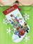Dimensiones-Oro-contado-Cross-Stitch-Kit-Navidad-Stocking-Santa-Muneco-de-nieve miniatura 7