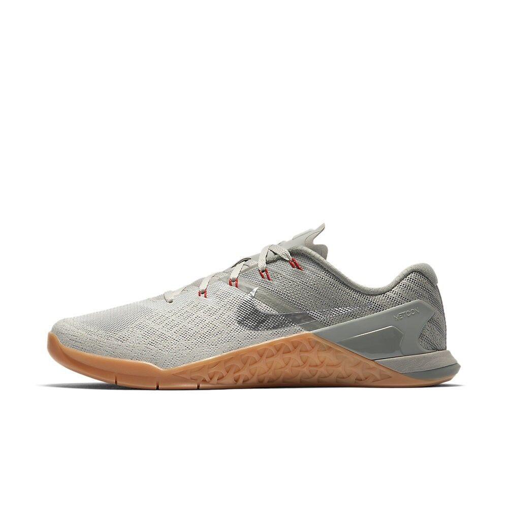 Nike Men Metcon 3 III Dark Stucco Training Lifting Shoes 852928-010 US7-11 04'