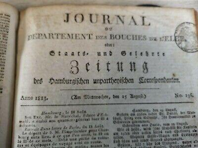 1813 136 / Todesurteil Georg Storre Aus Pattensen Falschmünzerei Hohe QualitäT Und Geringer Aufwand