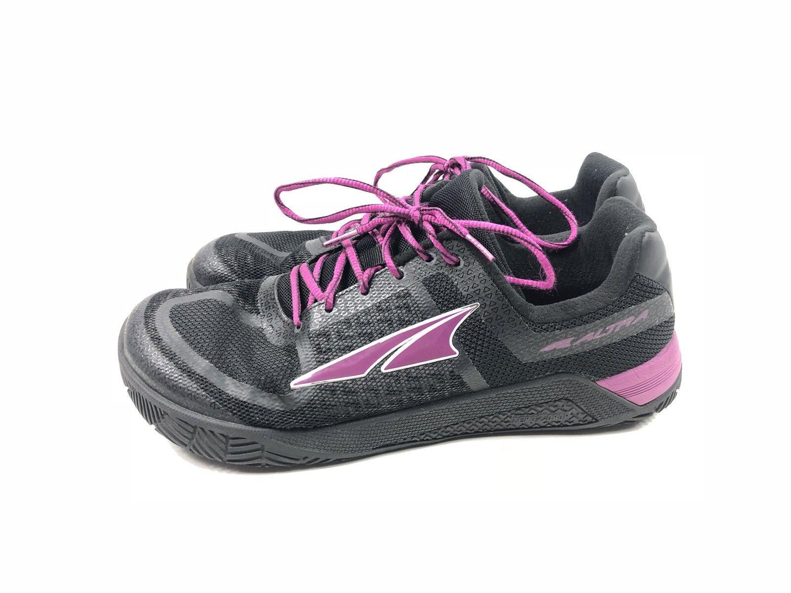 Altra Footwear Women's Hiit XT Black Purple Training shoes Size 9.5