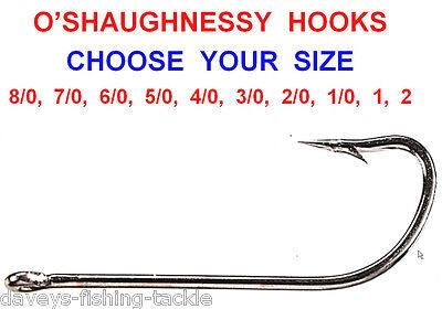 Baitholder Hooks Pack of 10 Sea Fishing Sizes 4 2 1 1//0 2//0 3//0 4//0 5//0 6//0 Cod