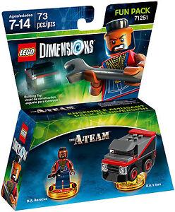 LEGO-DIMENSION-71251-FUN-PACK-A-TEAM-B-A-BARACUS-B-A-039-s-VAN-pronta-consegna-new
