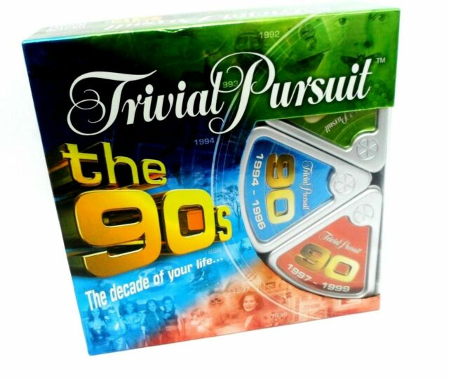 New TRIVIAL PURSUIT THE 90's EDITION PARKER The Decade of your Life New & Sealed
