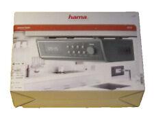 HAMA IR 320 WLan - Internet - Unterbau - Küchenradio Radio Grau