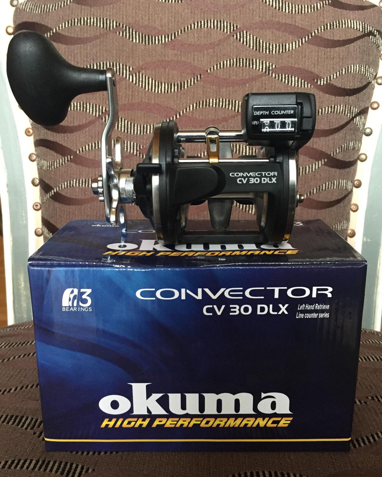 Okuma Convector CV-30DLX Linkshand  Multirolle  wholesale prices
