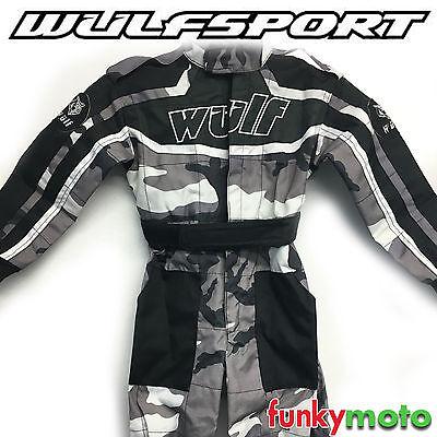 Noir X1K Moto Enfants Quad ATV Off Road Enduro Motocross Bike GAR/ÇONS ET Filles Lunettes DE Protection