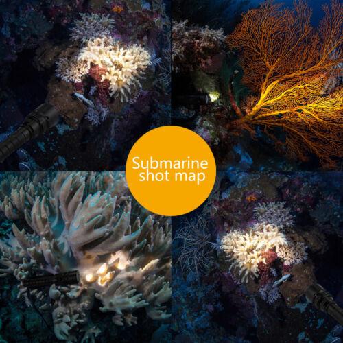 Diving Underwater 100m 15000Lumen 3X T6 LED SCUBA Flashlight Lamp Torch Light FF