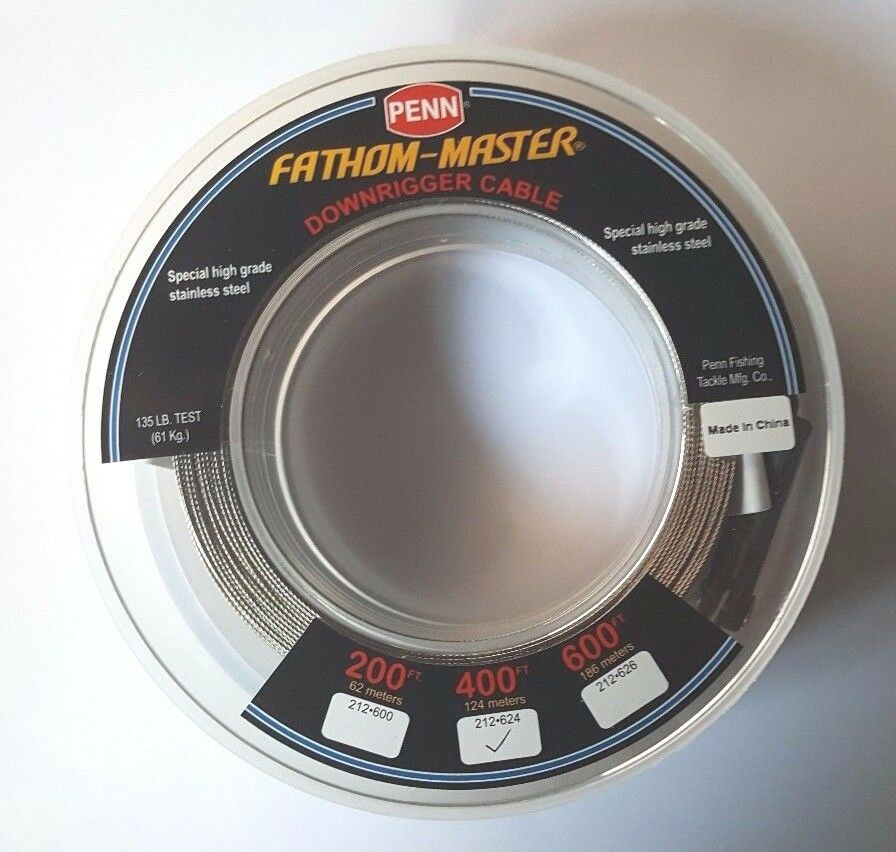 Penn Fathom-Master  Downrigger Cable 212-624 Stainless Steel 400' CANNON SCOTTY  online-shop