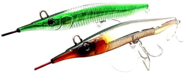 fishing lure little jack sayoris 133mm 29g x 2 top water stick bait kingfish