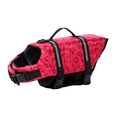 Pet Jackets Life Soft Safe Preserver Summer Outdoor Swimming Dog Vest Clothes