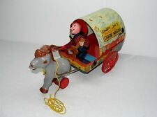 VINTAGE 1951 MATTEL COWBOY JOE'S MUSICAL CHUCK WAGON TOY