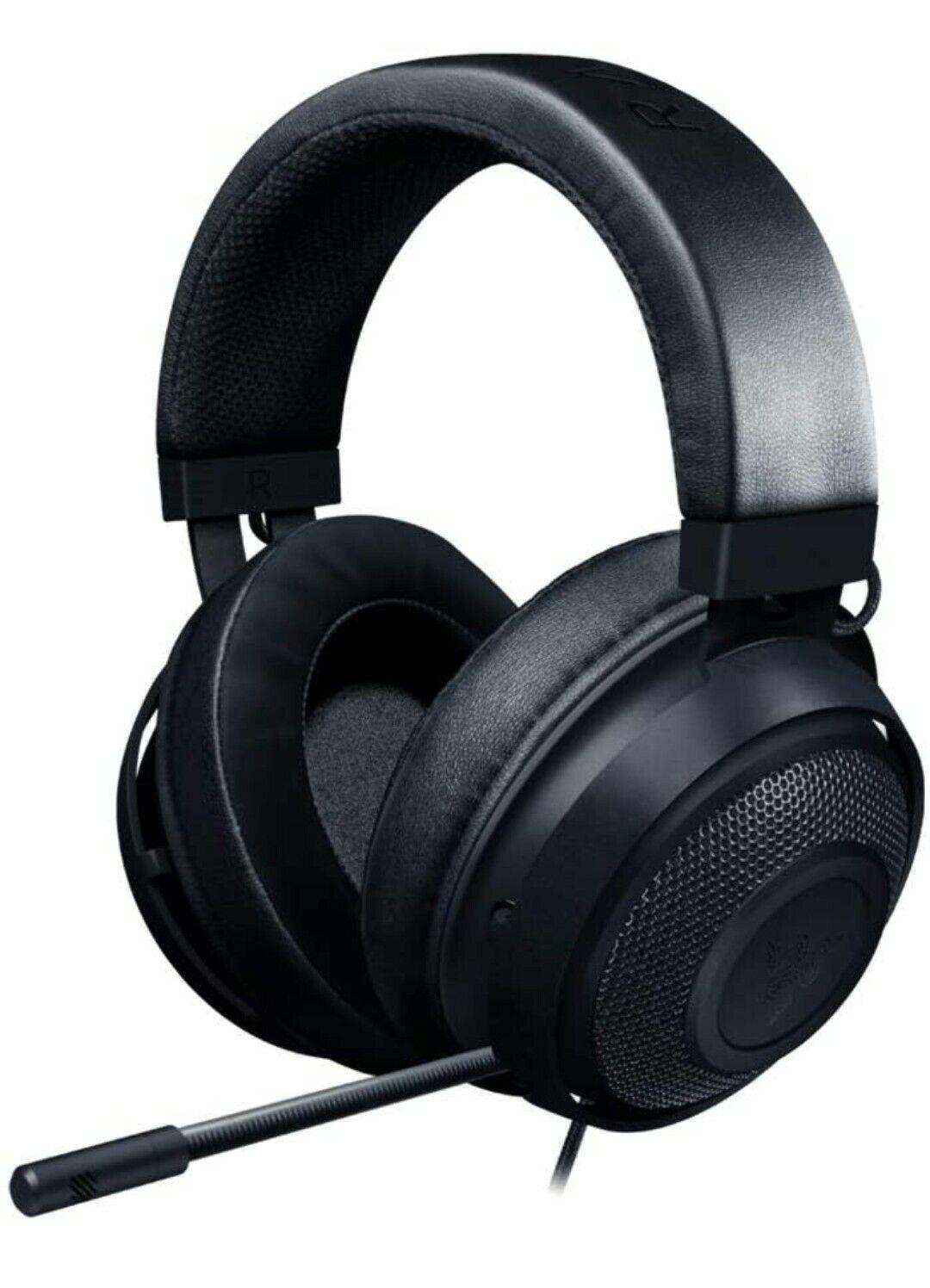 Razer Kraken Competitive Gaming Headset - Noise Cancelling Microphone - Black