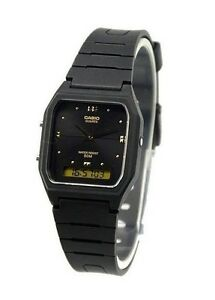 Casio-AW48HE-1A-Mens-Classic-Digital-Analog-Casual-Watch-Dual-Time-Black-Dial