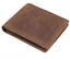 Polare Men/'s RFID Blocking Vintage Italian Genuine Leather Slim Bifold Wallet