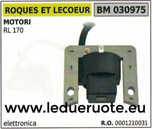 0001210031 Bobine électronique Unité De Contrôle Moteur Roques Et Lecoeur Rl 170 Moderne Et EléGant à La Mode
