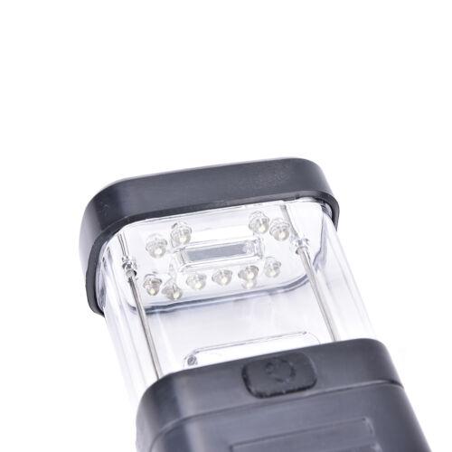 Portable Super Bright 11 LED Camping Tent Lantern Fishing Light Lamp Hiking、NiDS