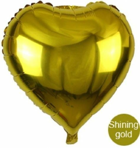 Anniversaries Decorations Wedding Foil Heart Shape Balloon For Birthday Party
