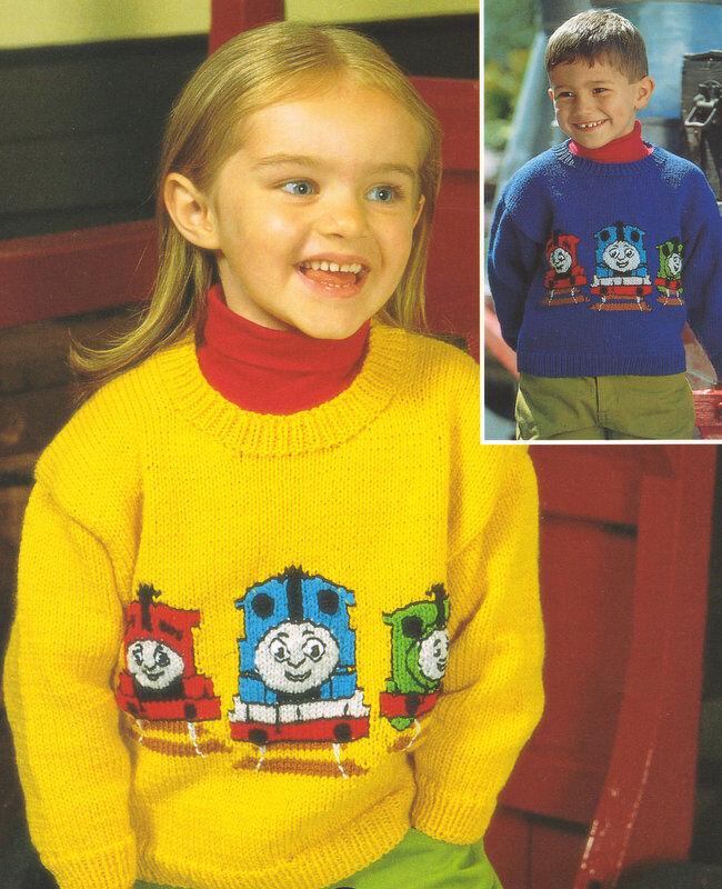 Thomas Tank Engine Friends Baby Children Sweater 20 28 Dk