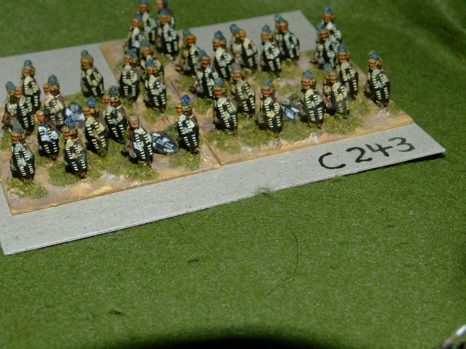 15mm colonial   zulu - 36 Infantry - inf (CL243)