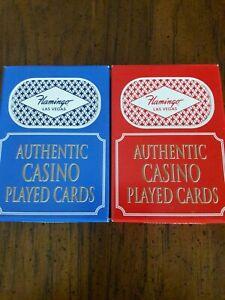 24-Decks-2-Colors-Flamingo-Casino-Las-Vegas-Playing-Cards-Used-in-Casino