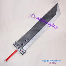 Final Fantasy VII FF7 Zack Fair Cloud Strife Big Sword Cosplay Prop PVC made