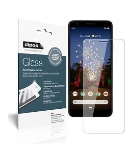 2x-Google-Pixel-3a-Schutzfolie-Panzerfolie-9H-Folie-dipos-Glass-Kunststoffglas