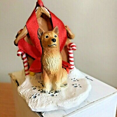Conversation Concepts Blonde Cocker Spaniel Dog Sleigh Dog Holiday Ornament