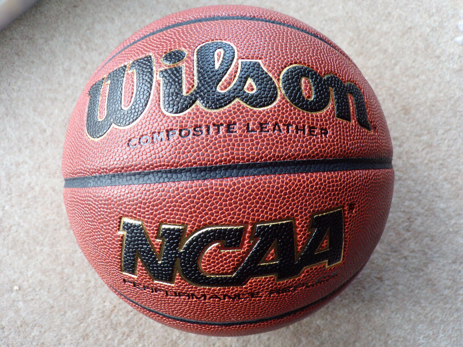 Wilson NCAA Basketball Composite Leather Official 29.5  Size 7 Inflated