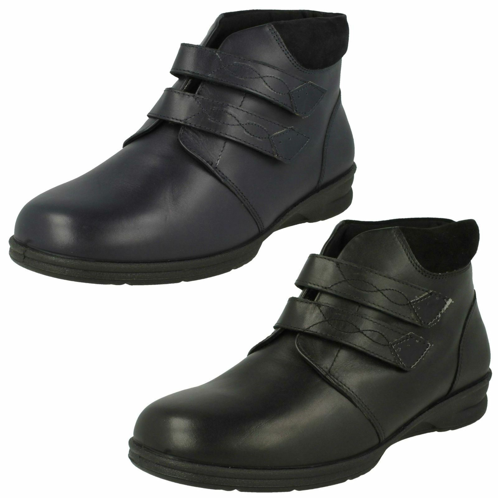 'Ladies Padders' Wide Fitting Ankle Boots - Kathy