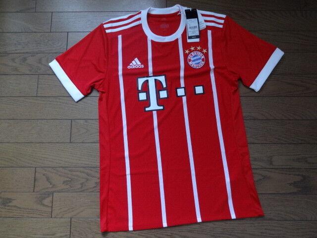 Adidas 17 18 Fc Bayern Munich Home Jersey Az7961 Soccer Football Shirts Uniform For Sale Online Ebay