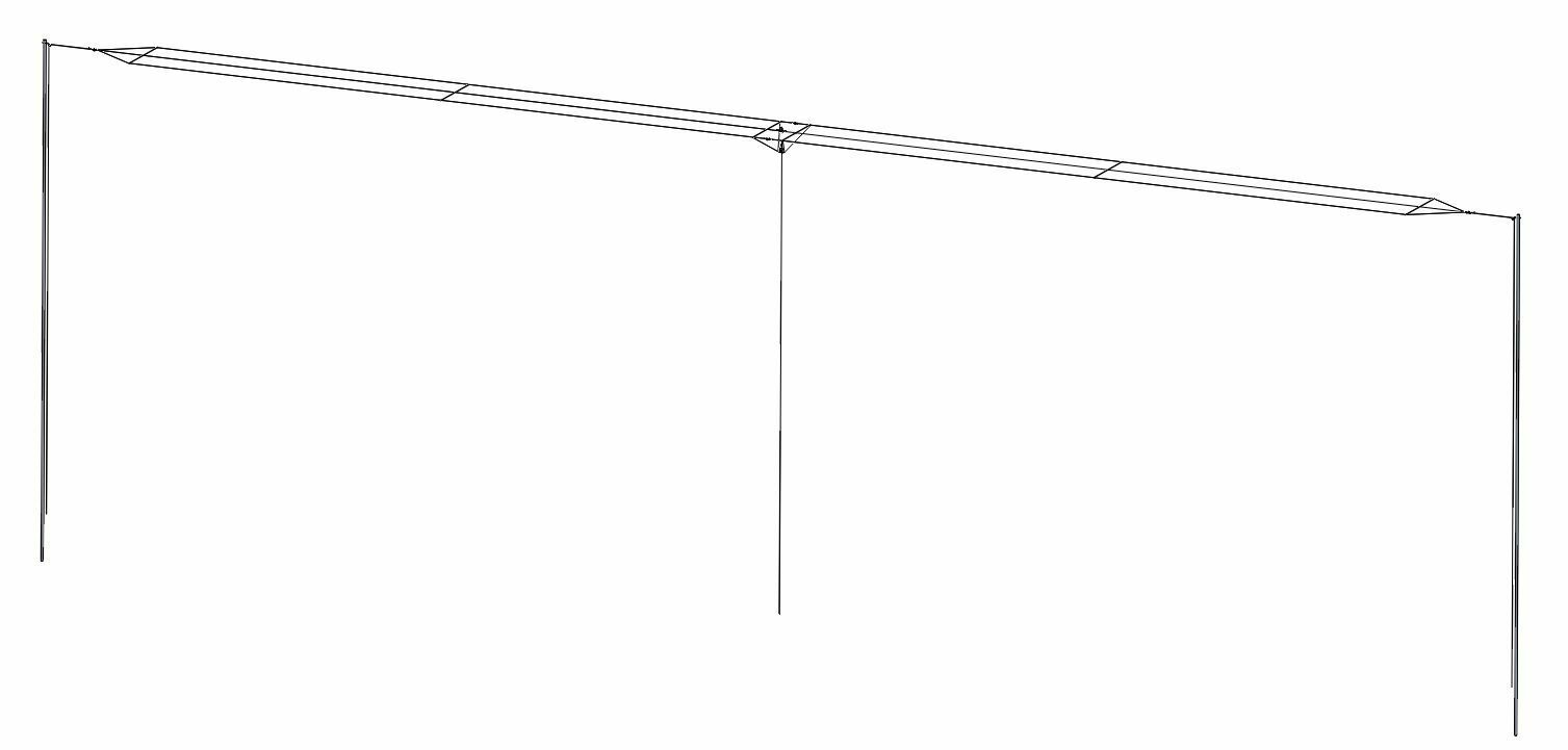 HF Broadband Antenna . Available Now for 570.00