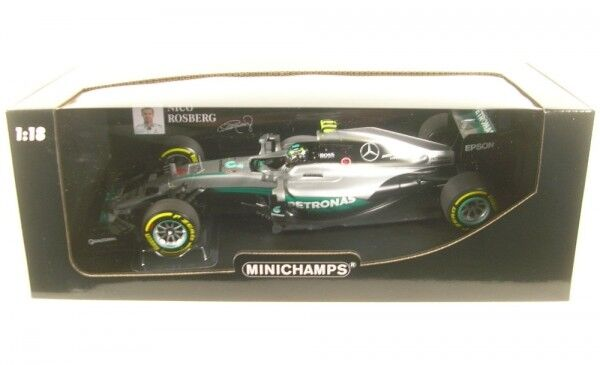 Mercedes AMG F1 Team W07 Hybrid Nr . 6 Abu Dhabi Gp - Formula 1 World Champion