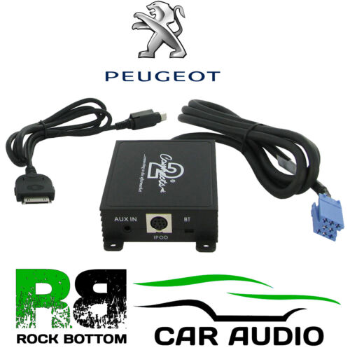 Peugeot 607 2002-2005 Car Radio Stereo iPod iPhone /& Aux In Interface Adaptor