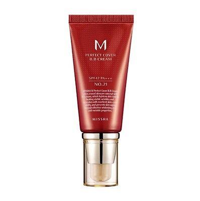 [MISSHA] M Perfect Cover BB Cream SPF42/PA+++ (#21) 50ml  -Korea cosmetics