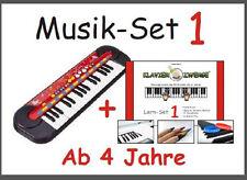 Musik-Set 1: Kinder-Keyboard von SimbaⒸ + Klavierzwerge-Lern-Set 1