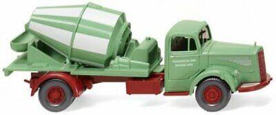 """WIKING Modell 1:87//H0 LKW Betonmischer MAN /""""Readymix/"""" orange #068204"""