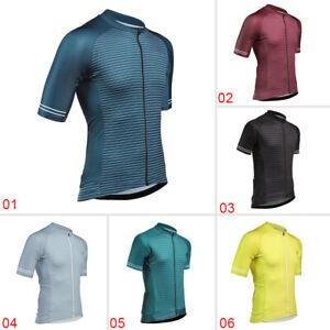2020 Men/'s Cycling Sports Jerseys Bike Biking Apparel Tops Short Sleeve Clothing