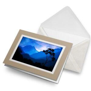 Greetings-Card-Biege-Himalayan-Mountains-Nepal-View-21687